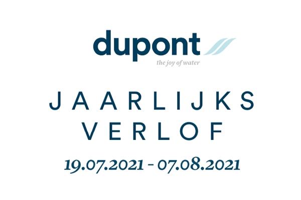 Dupont Jaarlijks Verlof